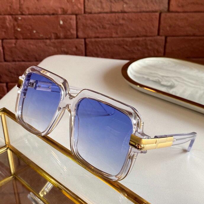 Légendes 667 nuances lunettes de soleil cristal gradient bleu lentille Sonnenbrille 2020 mode lunettes de soleil avec unisexe nouvelle boîte carrée FXOVQ