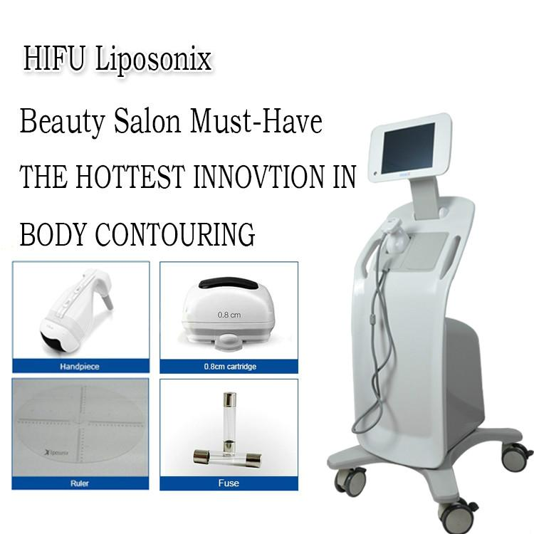 2020 Extracción de Nueva Liposonix cuerpo adelgazar máquina Lipo Reducción de grasa Celluite Liposonic Contorno Corporal Lipo Equipo Sonix