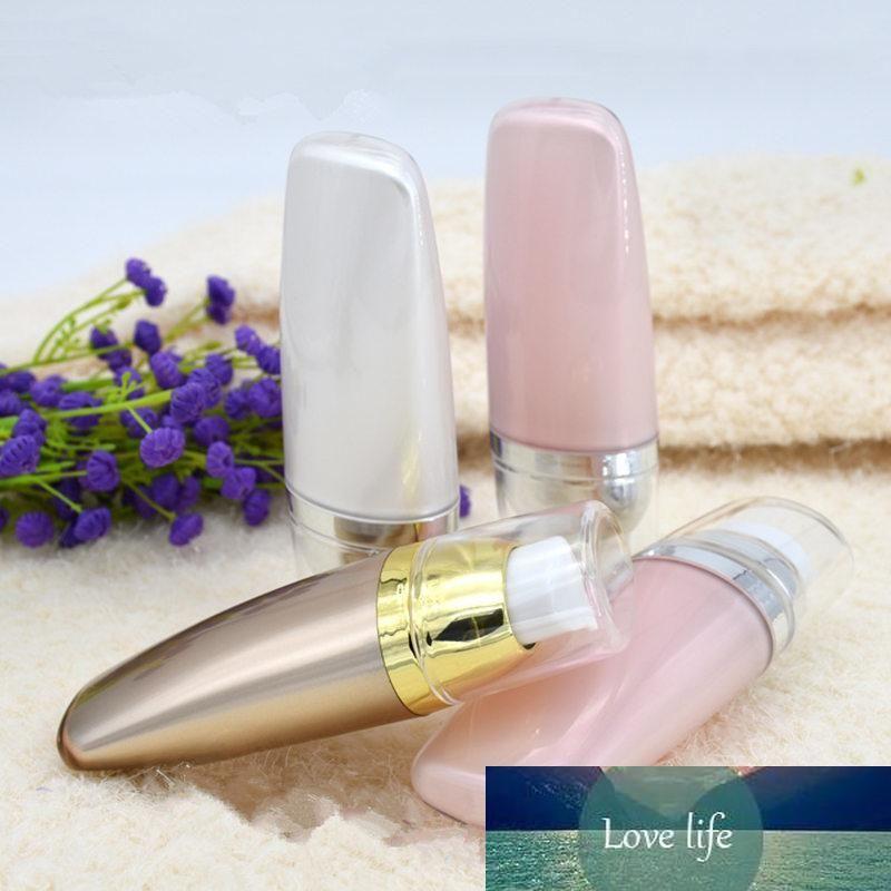 Vaciar 30ml BB Suncream Squeeze acrílico Fundación Tubos cosméticos Wash CC Crema de embalaje Prensa Airless Bomba Botellas 10pcs