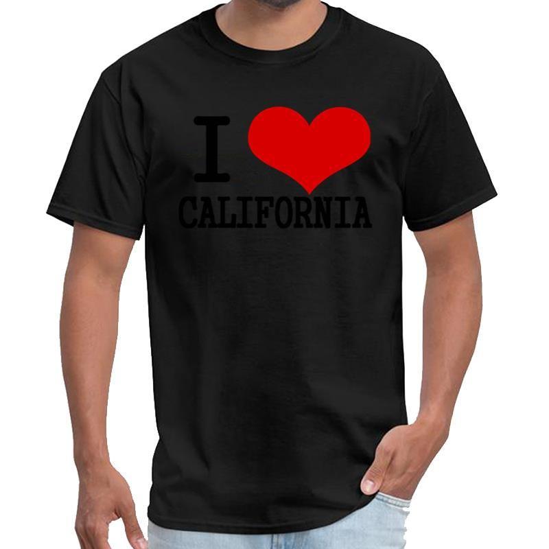 Moda Eu amo Califórnia The Smiths t Saab shirt dos homens tshirt padrão XXXL 4XL 5XL