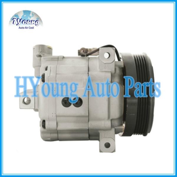 Alta calidad C099583 compresor de aire acondicionado para Mitsubishi Pajero IO 1.6 1.8 1999-2007 DKV11G 5PK
