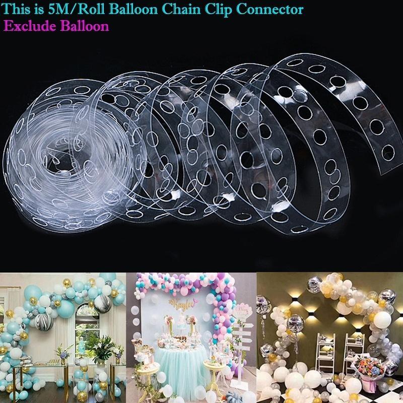 5M globo del partido Kit de accesorios de la decoración del arco de cumpleaños de la boda Fondo de decoración de Navidad Suministros de DHL
