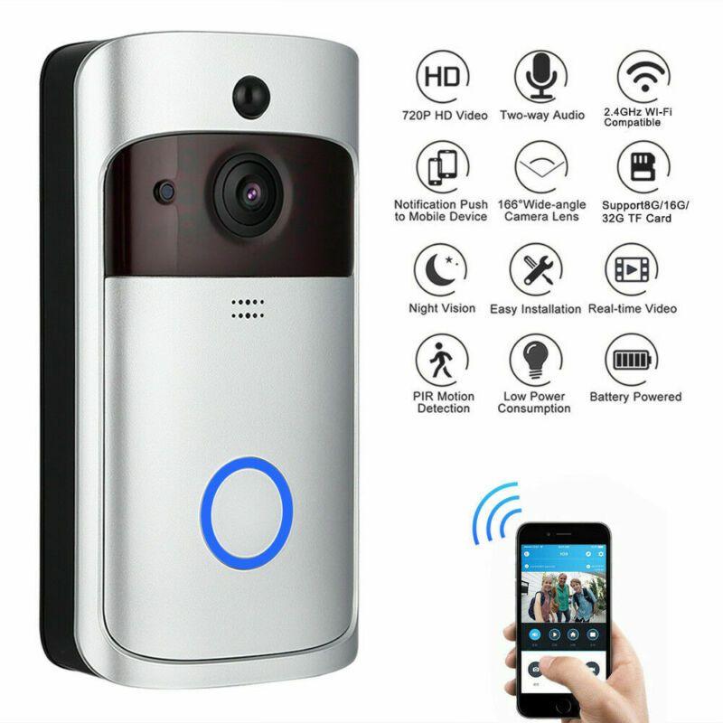 High Quality Wireless WiFi Video Doorbell Smart Phone Door Ring Intercom Security Camera Bell