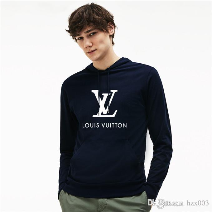 de Nova Hoodies para meninas do rato do gato Whitepink com capuz Louis Vuitton Mulheres camisola de mangas compridas homens / mulheres Hoodies Roupas