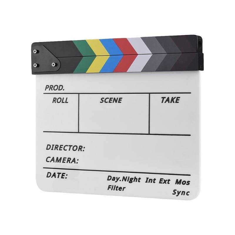 Video Scene acrilico Ciak Clap consiglio professionale regista televisivo di film
