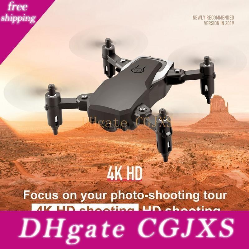 Aerial Photo Mini Lf606 Wifi Fpv Rc Drone 4k Camera Foldable And Portable Design Gravity Sensitive Rc Aircraft Storage Bag Package La262