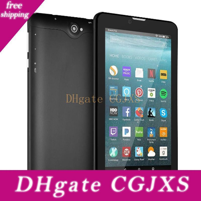7 8gb Tablet Pc Android Quad Core Wifi 3g Network Smart Tablet Wcdma Dual Sim Card Slot Camera Phablet Tablet With Retail Box