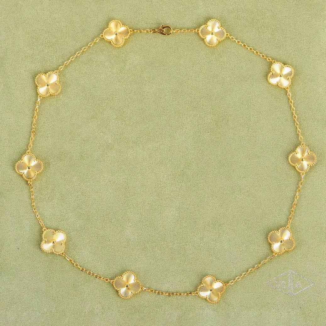 qualidade pulseira pingente 5 flores luxuoso com fecho de losango com selo para as mulheres de casamento presente da jóia PS5343A frete grátis