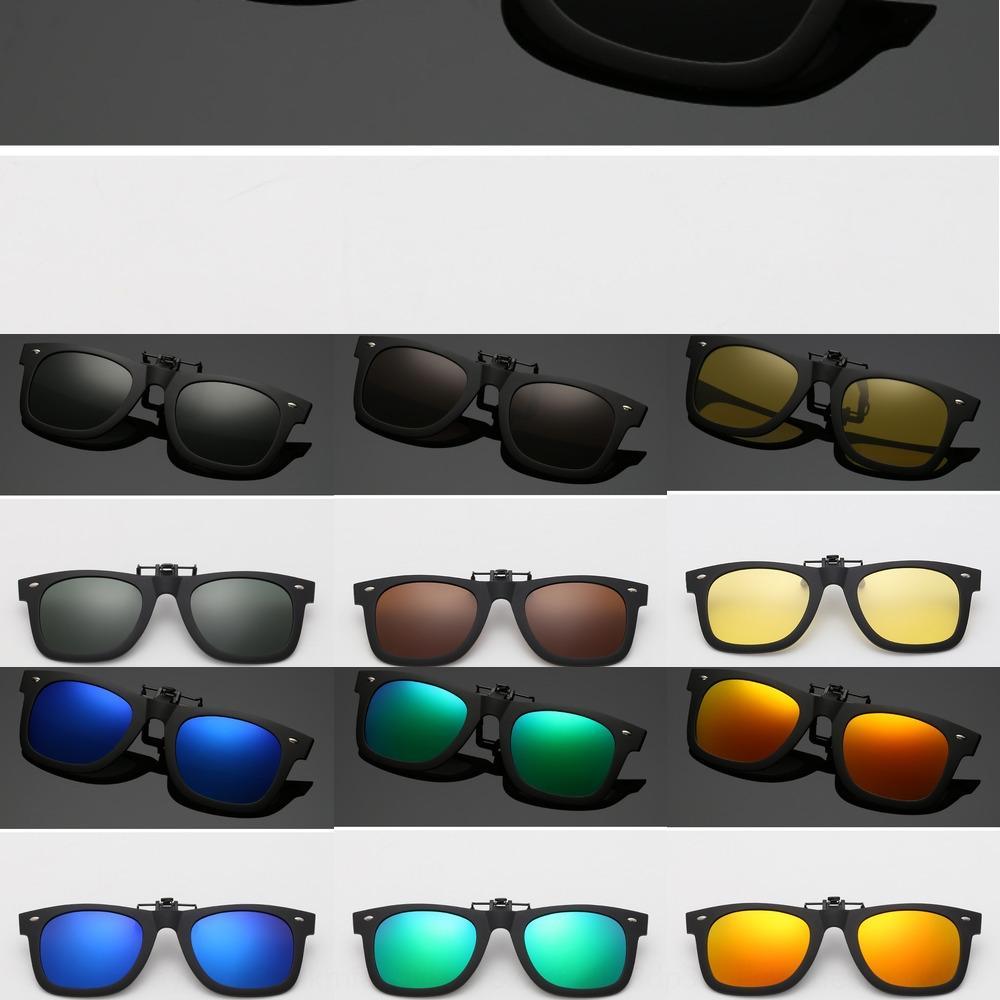 2140 polarisierte Myopie clip Brille Goggle Nachtsicht Sonnenbrille ultra light ultra weich Nachtsichtgläser nach oben gerichtet