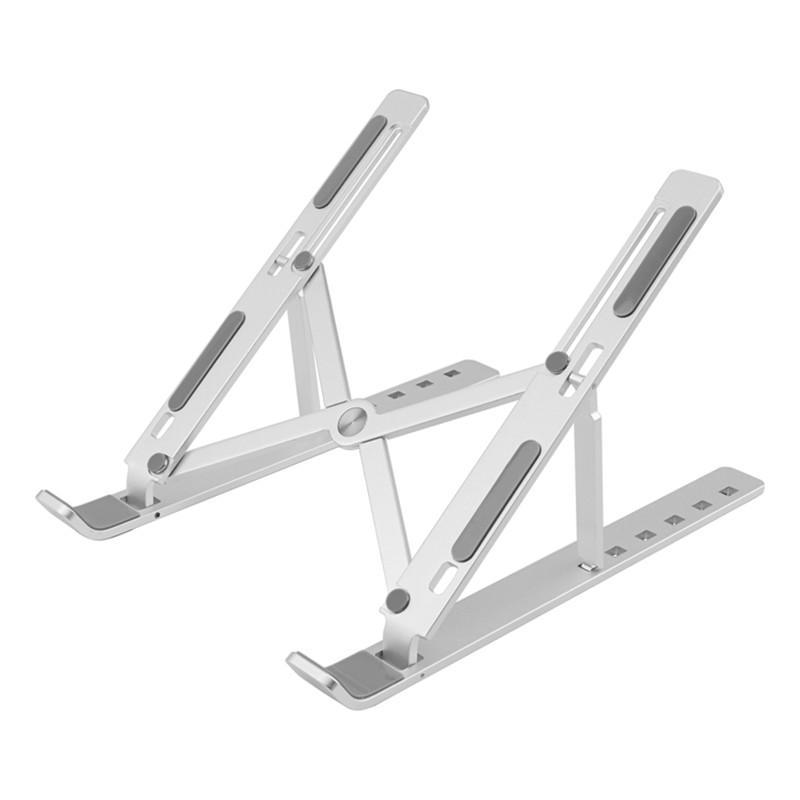 50pcs Aluminum laptop notebook stand folding desk support holder portable adjustable laptop stand Tablet Adjustable Computer Tablet Support