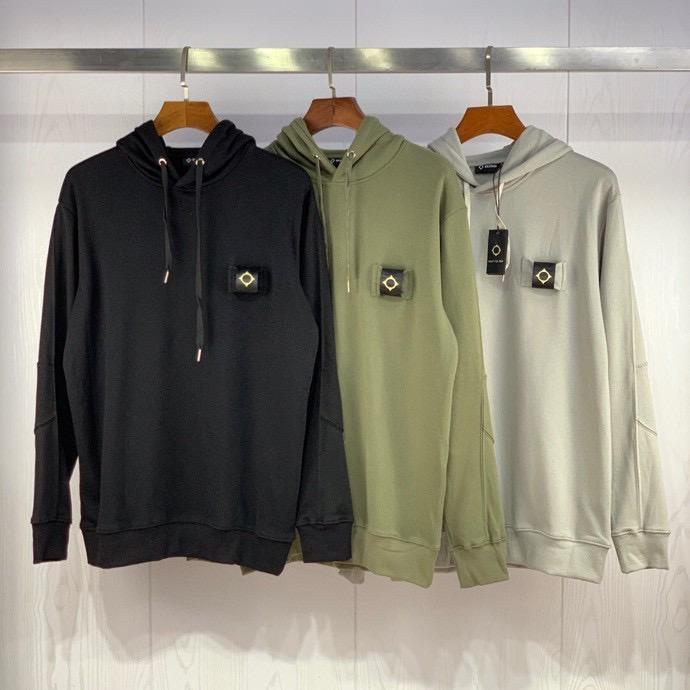 M-XXL H922RF: Havlu kumaş Hoodie Erkek Kadın imleç 20SS Erkekler tasarımcı Kapüşonlular Aplike Gece MA.STRUM erkek giyim Asya Boyutu sweatshirt'ü