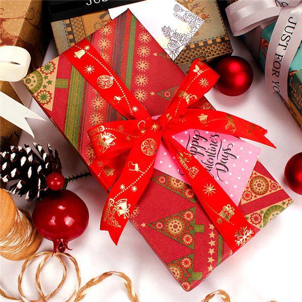 """새로운 도착! 크리스마스 포장지 크래프트 선물 선물 종이 공예 종이 20 """"* 30 ''인치 생일 휴가 결혼 선물 포장 A11"""