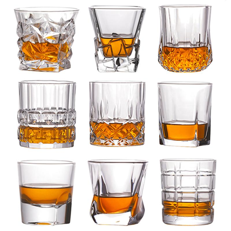 Bira Alkollü Komik Gözlük Avrupa Yaratıcı Hediyeler LJ200821 için Shot Viski Kristal Cam Parti Düğün Şarap Likör Cam Kahve Çay Kupası