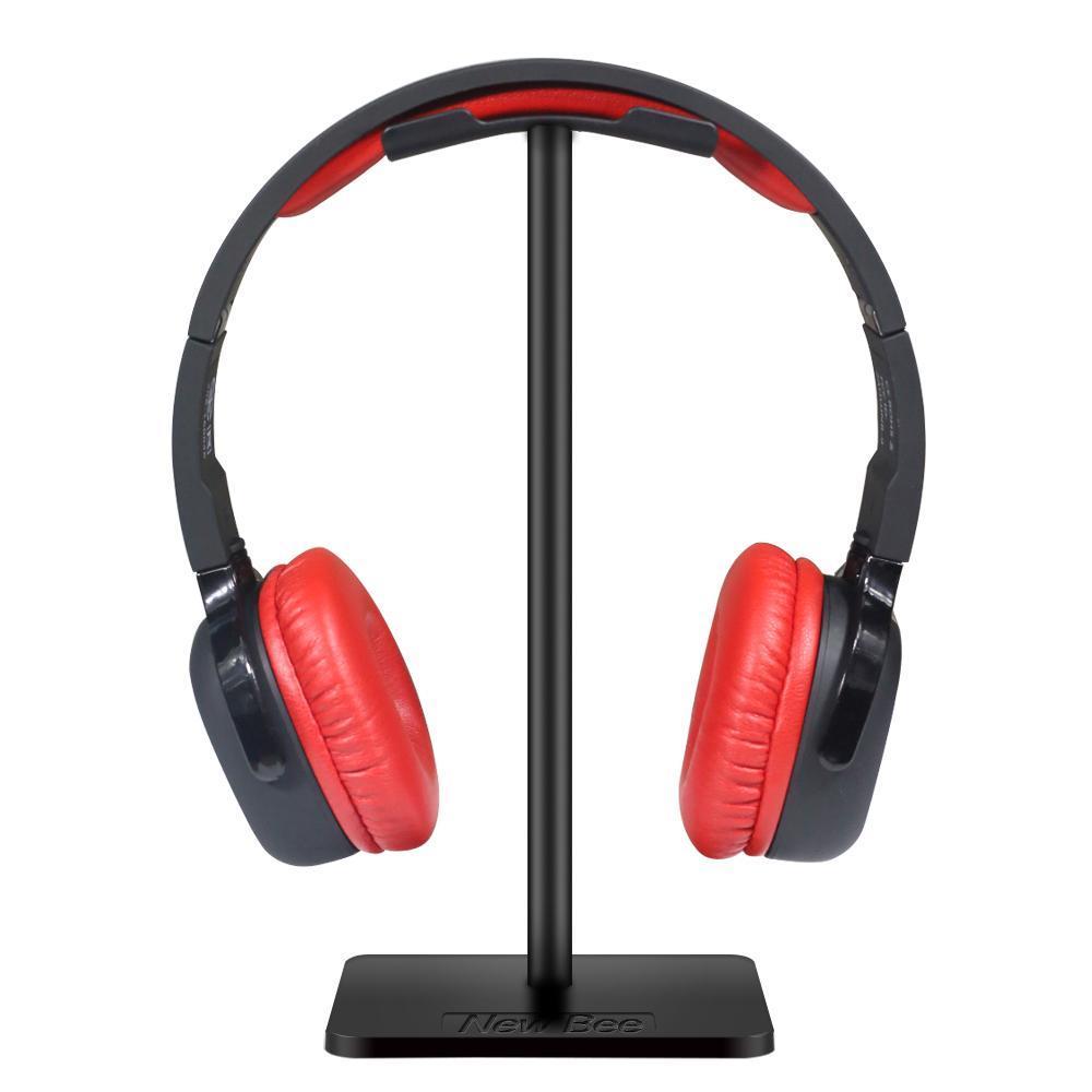 cgjxsNew abeja clásico del auricular del auricular del soporte del sostenedor del soporte del auricular del titular Moda Display para los auriculares Soporte Para Negro