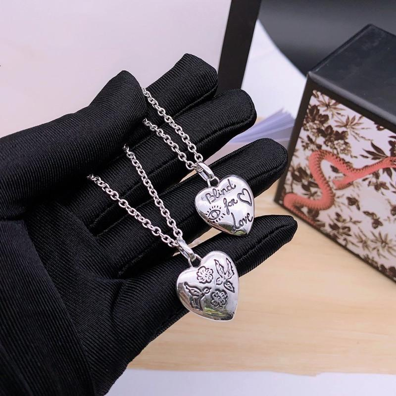 3 Styles 55cm Charm Necklaces for Unisex G Top Quality 925 Sterling Silver Love Animal Necklace Long Chain Necklaces Fashion Supply