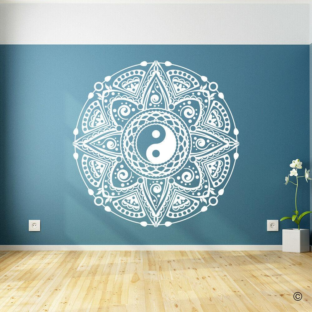 Yin Yang Mandala Flower Wall Decal Vinyl Bohemia Wall Stickers For Living Room Decoration Removable Art Family Wallpaper Z505 T200601 Stickers Decor Stickers For Bedroom Walls From Highqualit07 23 14 Dhgate Com