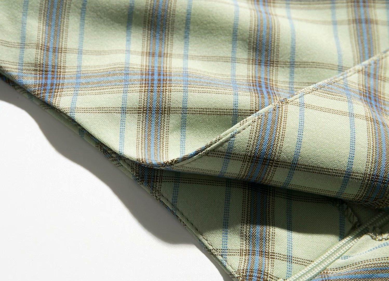 htcwm M1714-Wind curto coberto de hip A- saia de linha roupas saia 2020 verão nova cintura A alta da manta dividir linha A- overskirt de Mulheres