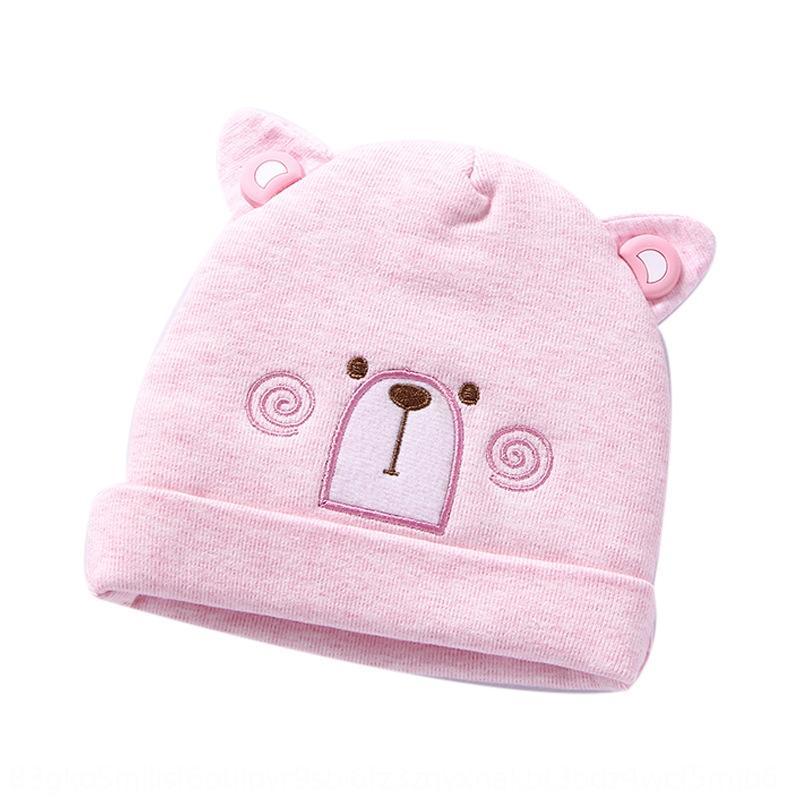 Smart Star jersey cap cap sombrero recién nacido jersey de algodón y del bebé del bebé lindo sombrero de primavera NFR48 macho y hembra delgada otoño