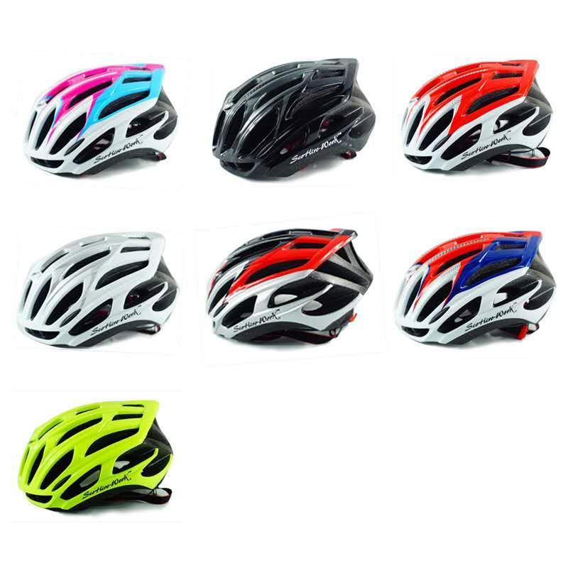 Un nouveau casque d'équitation Triathlon, casque de temps des hommes de vélo de montagne, tt femmes vélo, casque de vélo de course L Accesorios Casco Ciclismo
