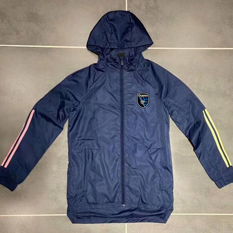 Adultos 20 21 terremotos con capucha chaquetas rompevientos 2020 2021 sudaderas con capucha de los deportes de invierno chaquetas de la capa con capucha de la cremallera Ejecución de chaquetas de los hombres