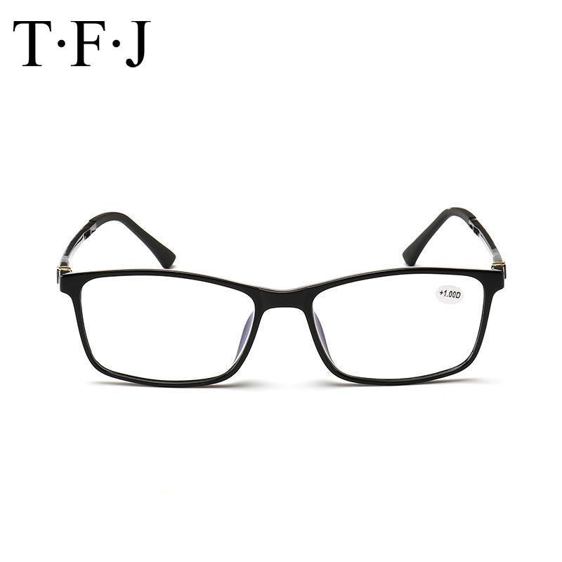 Gafas de gafas de mujer de resina con lentes lupas gafas vidrios portátiles para hombres Ochki bisagra de lectura Dioptrías LHG73 ULIMO