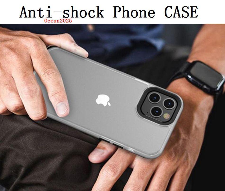 Матовый ТПУ + PC Phone чехол для iPhone 12 Защитная крышка 11 Pro MAX 8 7 6 Матовый Анти-Отступайте