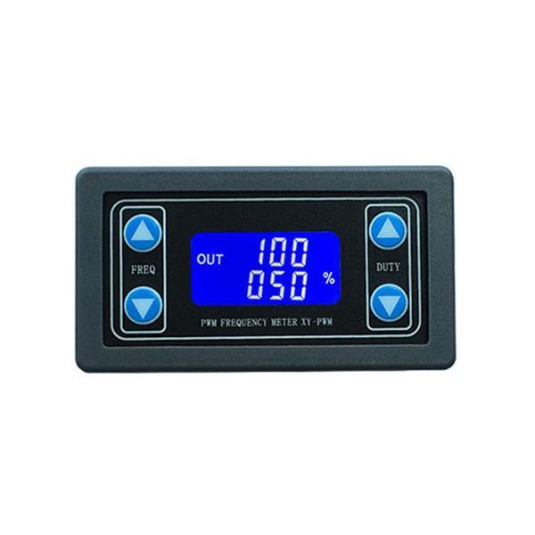 LCD 디스플레이 주파수 신호 발생기 패널 미터 모듈 지원 TTL 출력과 고정밀 PWM 주파수 측정기 XY-PWM
