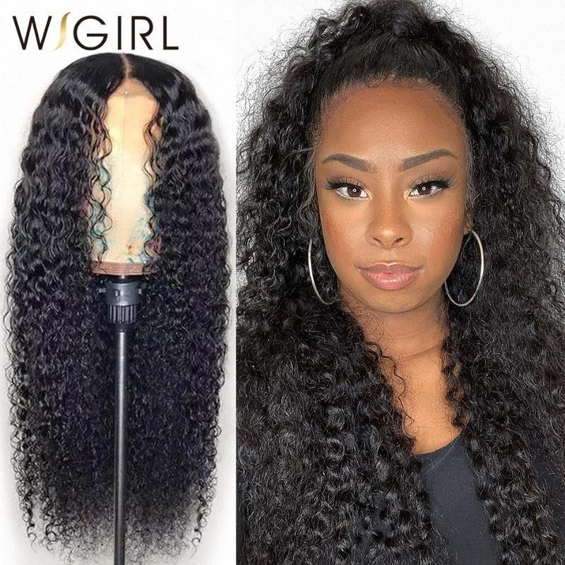 Wigirl Malaisie Remy 13x4 Lace Front perruques de cheveux humains 28 30 pouces vague profonde de longue perruque Frontal pour les femmes noires 7eGt #