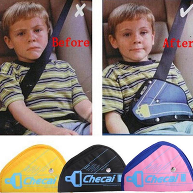 Autositz-Sicherheitsgurt-Abdeckung Robuste Adjustable Dreieck-Sicherheits-Sicherheitsgurt Pad Klipp-Baby-Kinderschutz Car-Styling Fahrzeug Ist