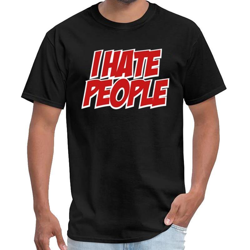 Impresso Eu deio povos camiseta homme camiseta anime camiseta tamanho grande dos homens coton s ~ 5xL naturais