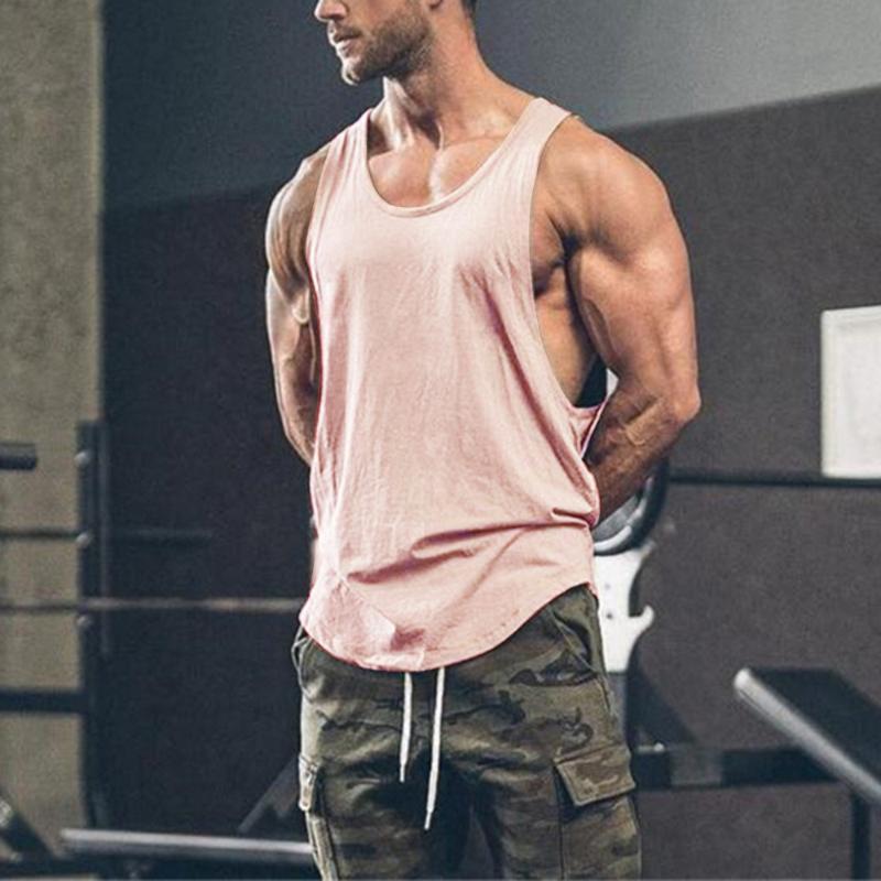 réservoir de limon de musculation musculaire fitness singlet vêtements Gymnases top pour hommes hommes gars muscle chemise singlet gilet Tanktop