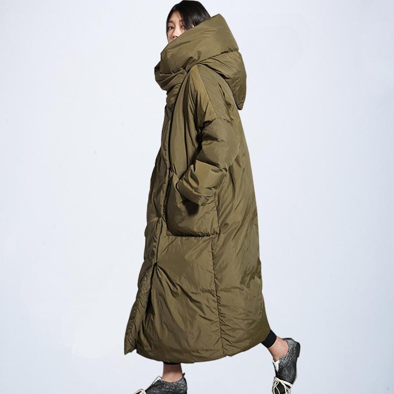 Brands New-Winter-Kollektion von Jacke 2019 stilvolle Windsicher weiblich Mantel 2019 Frauen Steppmantel Jacken Lange warme Parkas Tops CX200825