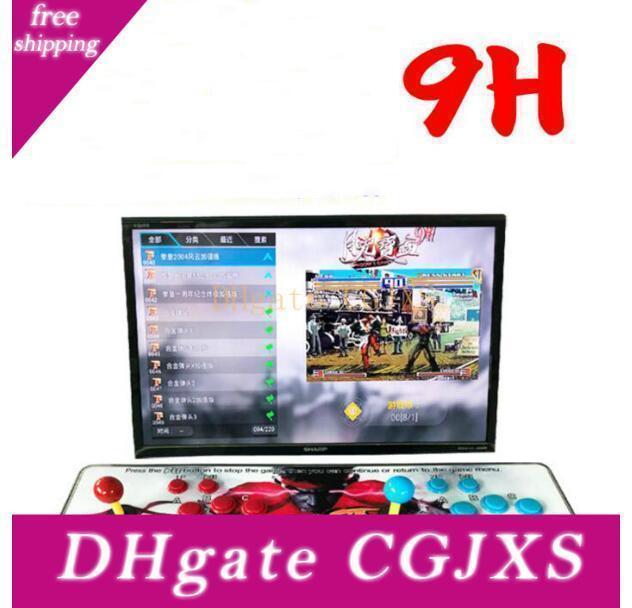 2199 3d Hd Games ]Pandora 9h 3d 1280 *1080p 32gb Arcade Video Game Console Box Arcade Machine Double Arcade Joystick With Speaker Yx2199