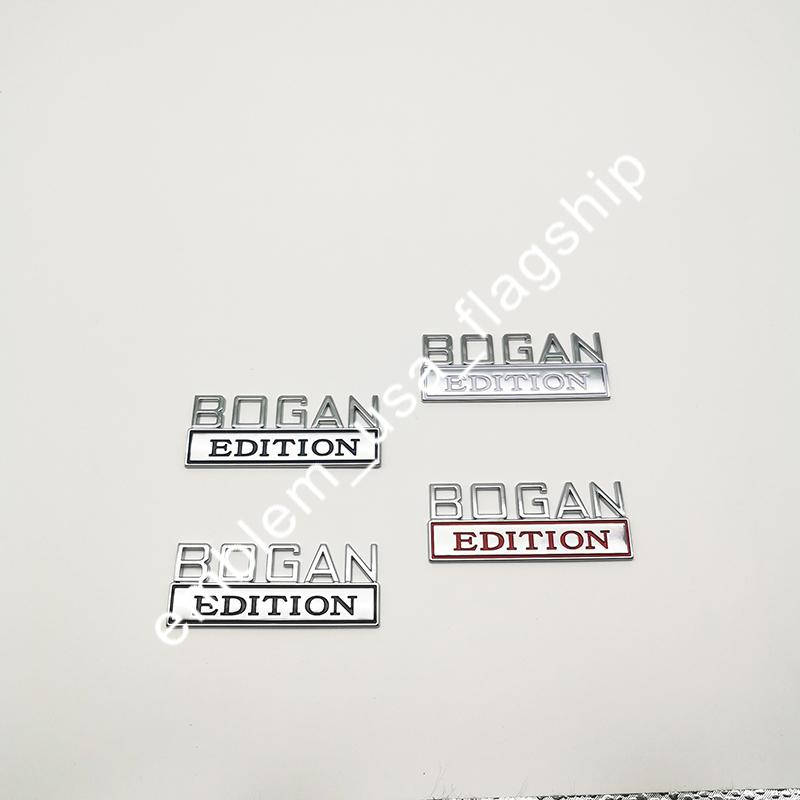 الكروم SMALL BOGAN EDITION الشارات شعار المتخلف EDITION