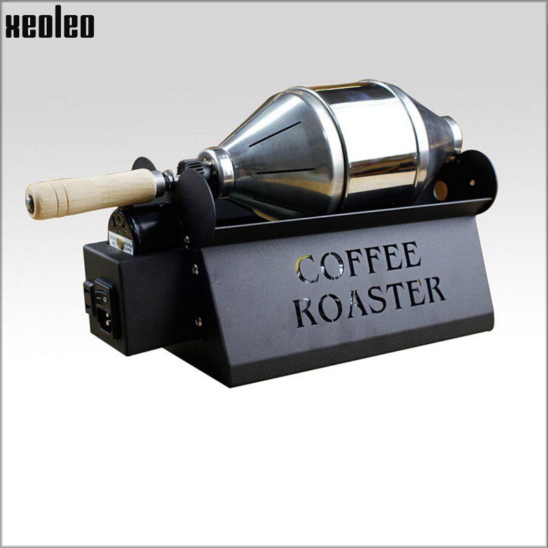 Xeoleo Commercial Coffee Петухи Домащний Coffee Bean Выпечка машина из нержавеющей стали Жаровня 800г / час Baker