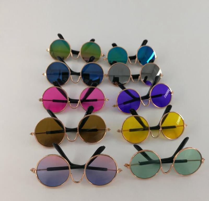 Little Dog Glasses Cat Glasses Cat Eye -Wear Pet Sunglasses Photos Props Dog Cat Accessories Pet Supplies For Pet Products