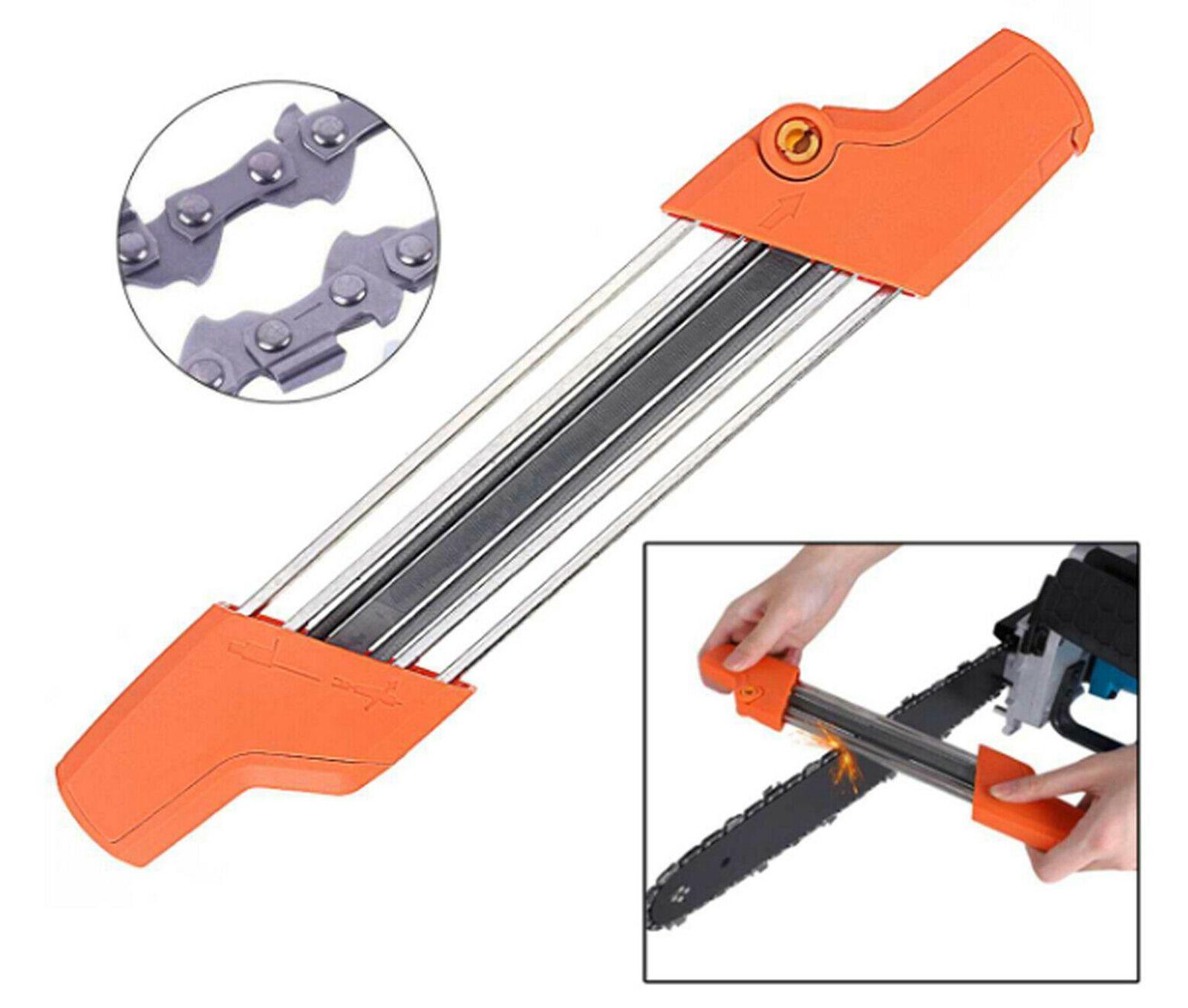 2 in 1 Easy File Chainsaw catena affilatura strumento Da STIHL 4 millimetri 3 / 8LP Picco