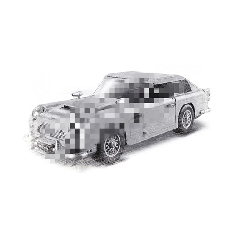 11010 Compatible Creator Expert 10262 Aston Martin DB5 Set Building Blocks Bricks Children Car Model Gifts Educational Toys