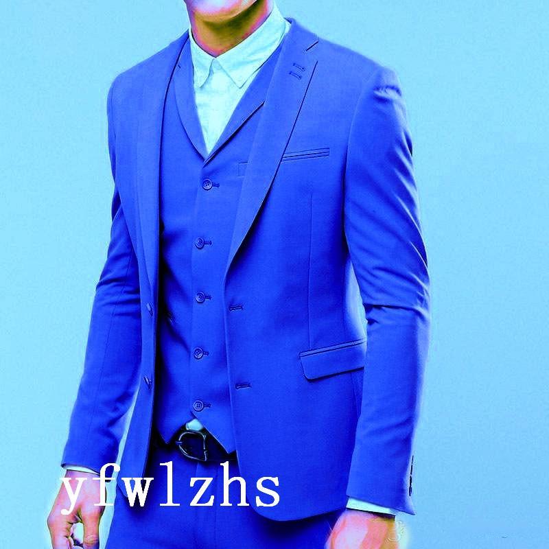 Classic tuxedos groom wedding Notch Lapel men suits mens wedding suits tuxedo costumes de pour hommes men(Jacket+Pants+Tie+Vest) W256