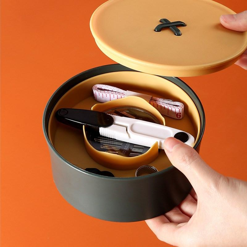 Sewing Kit for Adult Home Box Easy Carrying and Storage Suitable Student TravelHome Sewings Set Beginners MY-inf0140
