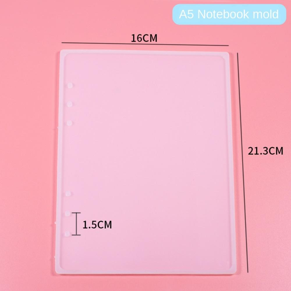 Color diy glue dripping Diy note cover material bag notebook mold cover core book single ring button