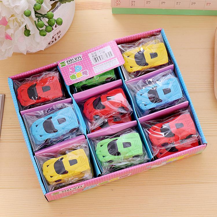 voiture Livraison gratuite style coréen sportif Eraser Pour les élèves des écoles élémentaires modèles de voiture Wipe colle papeterie de jouets pour enfants En savoir prix