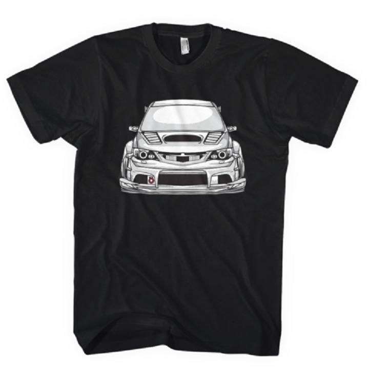 2019 caliente venta de la manera Impreza WRX STI Jdm coche aficionados camiseta Nueva Camiseta