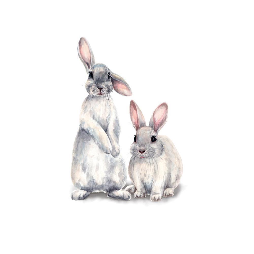 Decoración del hogar Conejos lindo DIY dormitorio de dibujos animados para niños etiqueta de la pared Para Piezas Crafts