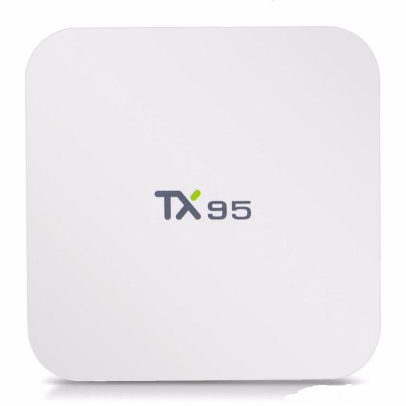 TX95 Android 7.1 TV Box 2G 16G Amlogic S905W Quad Core Dual Wifi Bluetooth Streaming Media Player