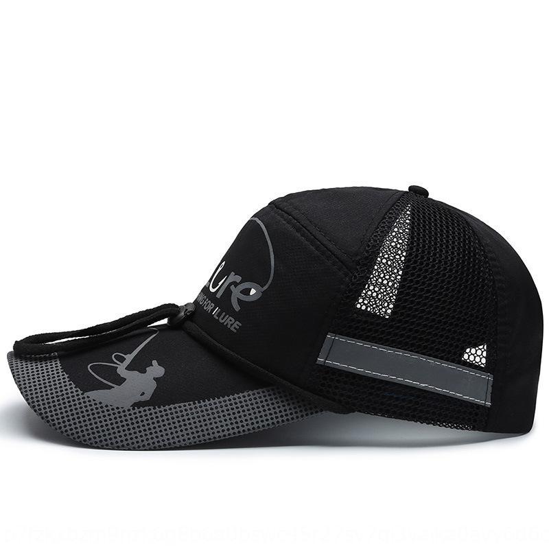 verano de los hombres de la pesca al aire libre sombrero de Corea de la moda estilo del sombrero del ocio protección UV de los deportes de las mujeres del ocio