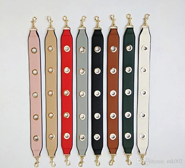 Poignée solide PU femmes remplacement de bracelet en cuir Sac à main Bracelet en or Boucle d'embrayage Bracelet bourse Bracelet