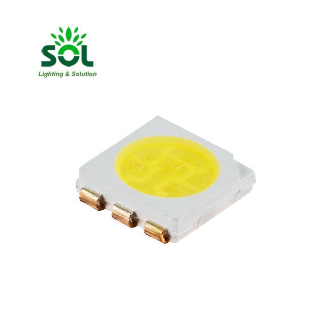 SOL-5050X006-XX 0.2W 3V 6500K 5000K 4000K 5050 SMD LED чип 1000шт / рулон для лампочки
