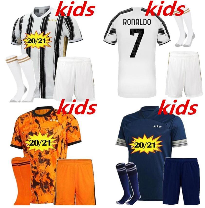 enfants kits de football 20 21 maillot de football 2020 2021 enfants nouveau 20 kit 21 kits de football chemise du football maillot de pied camiseta de Fútbol