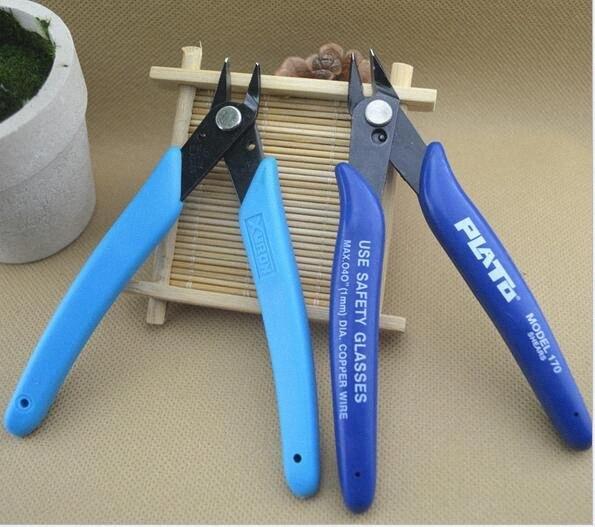 Plato 170 Flush Cutter Кусачки Щипцы мини плоскогубцев зажим ножницы инструмент для DIY RDA Отопление Coil Wick Rebuildable Форсунка Vape XaQt #